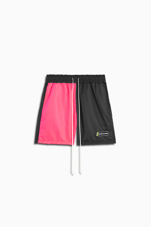 venice trunk / wildflower pink + black