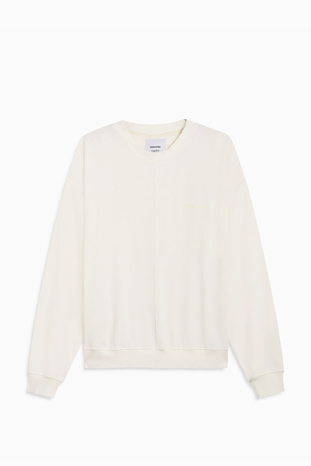 loop terry crewneck sweatshirt / natural terry