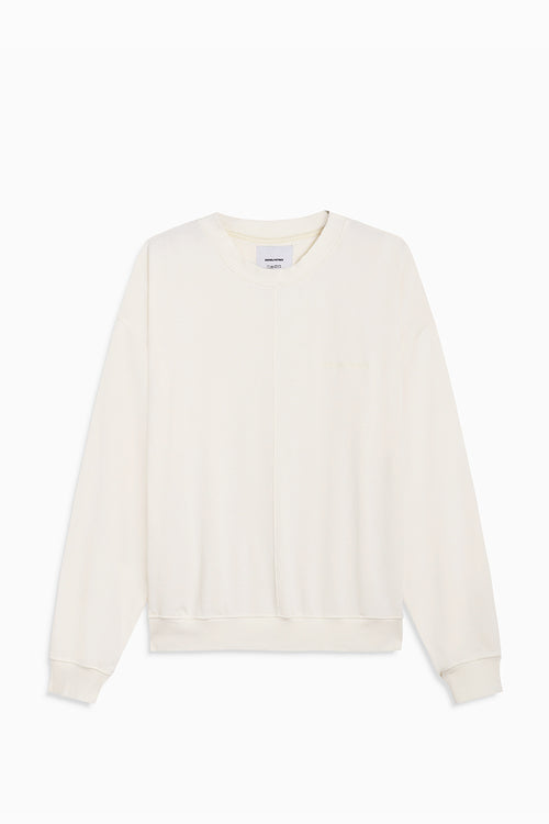 loop terry standard sweatshirt / natural terry