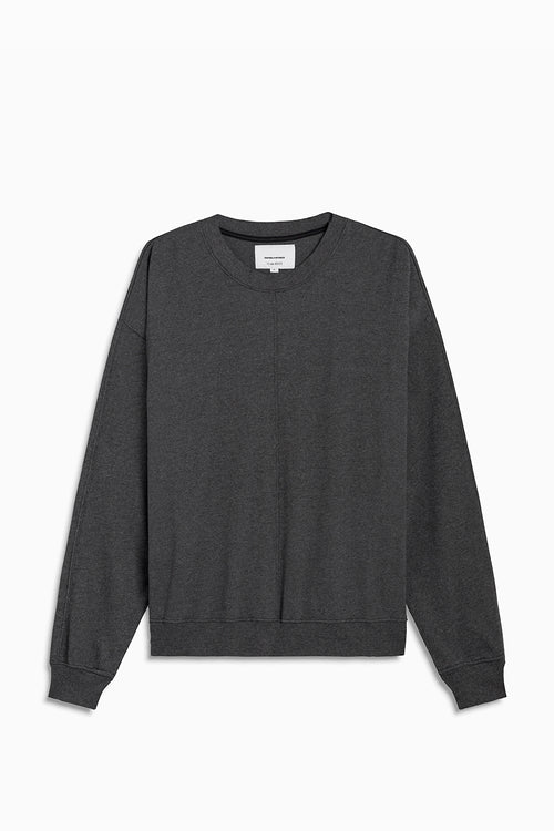 loop terry standard sweatshirt / black heather