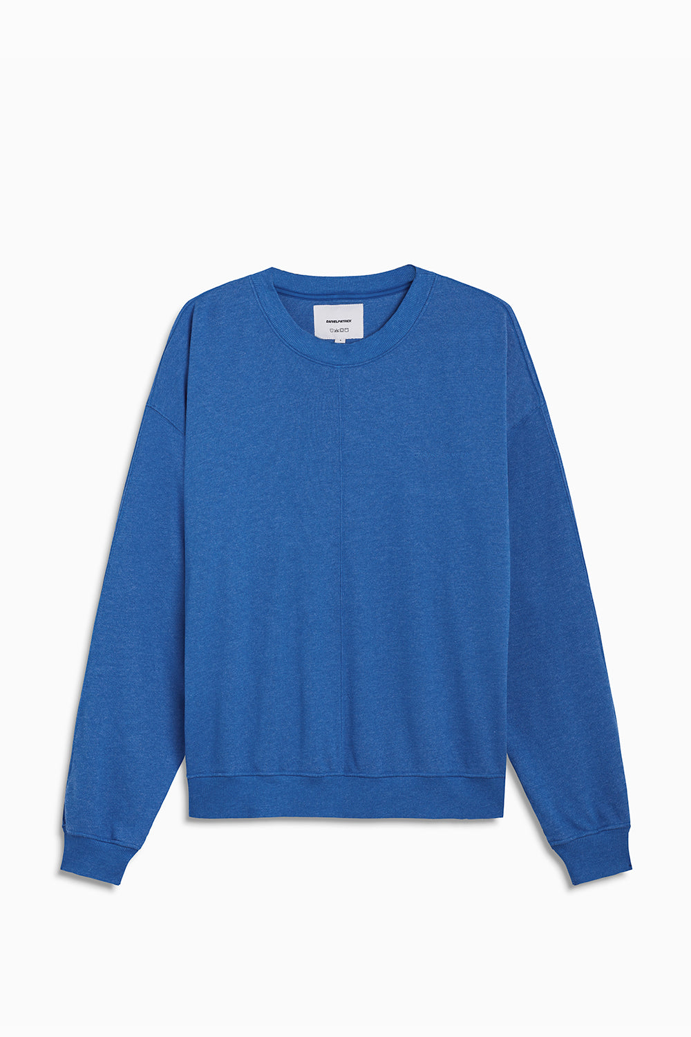 loop terry crewneck sweatshirt / vintage blue heather