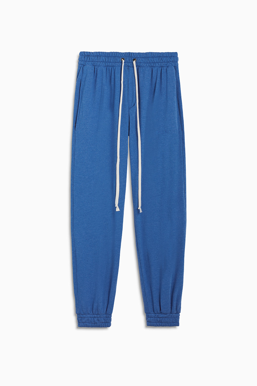 loop terry roaming sweatpants / vintage blue heather