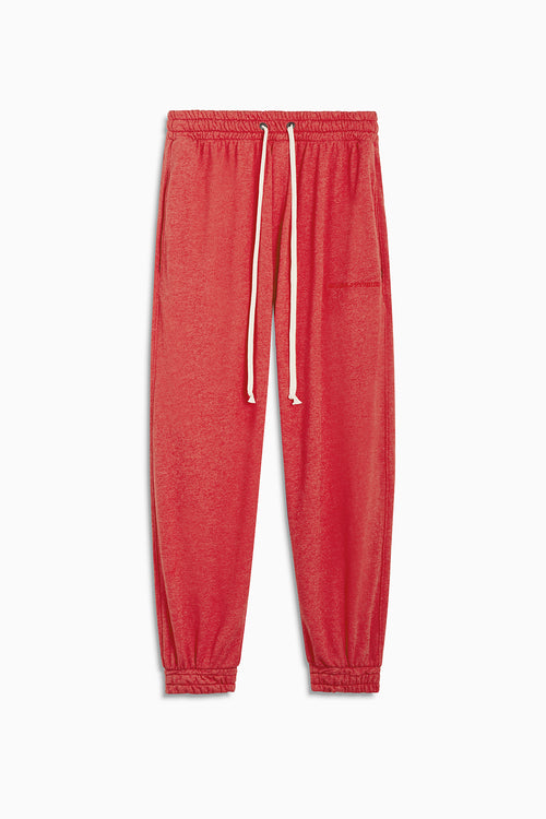 loop terry roaming sweatpants / red heather