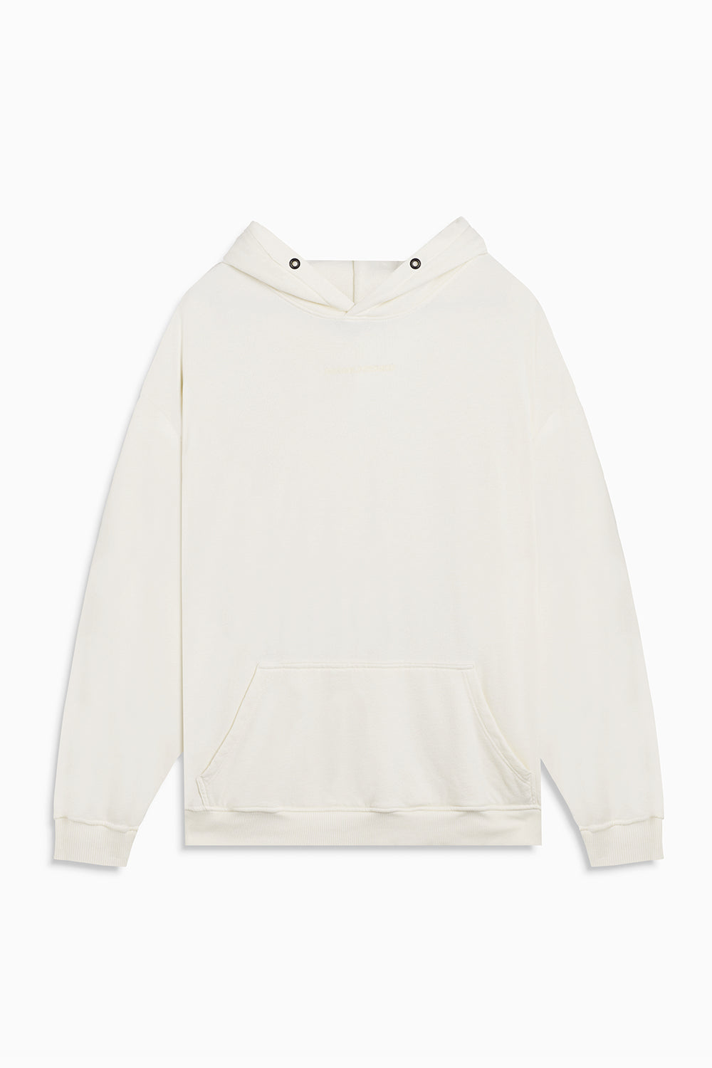 loop terry standard hoodie / natural terry