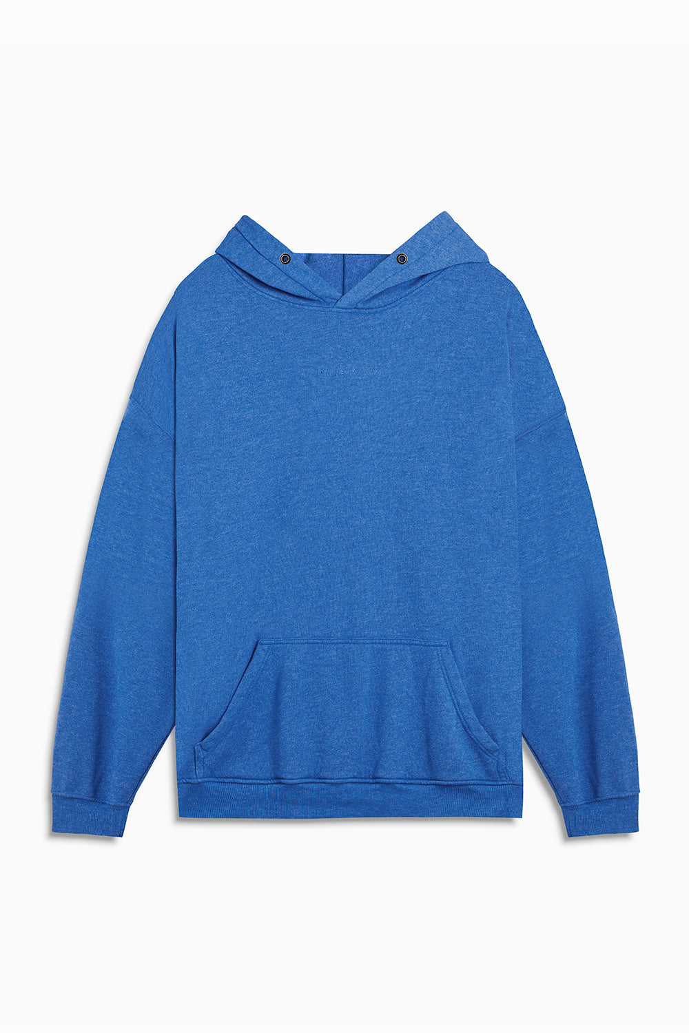 loop terry standard hoodie / vintage blue heather