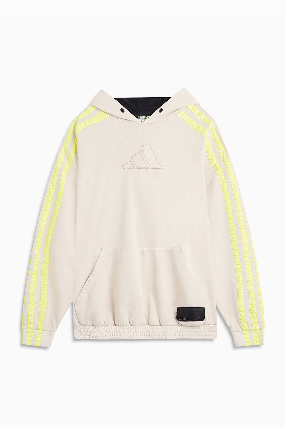 DP x James Harden x Adidas hoodie / sand + yellow