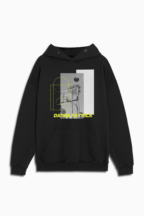94 b-ball hoodie in black by daniel patrick