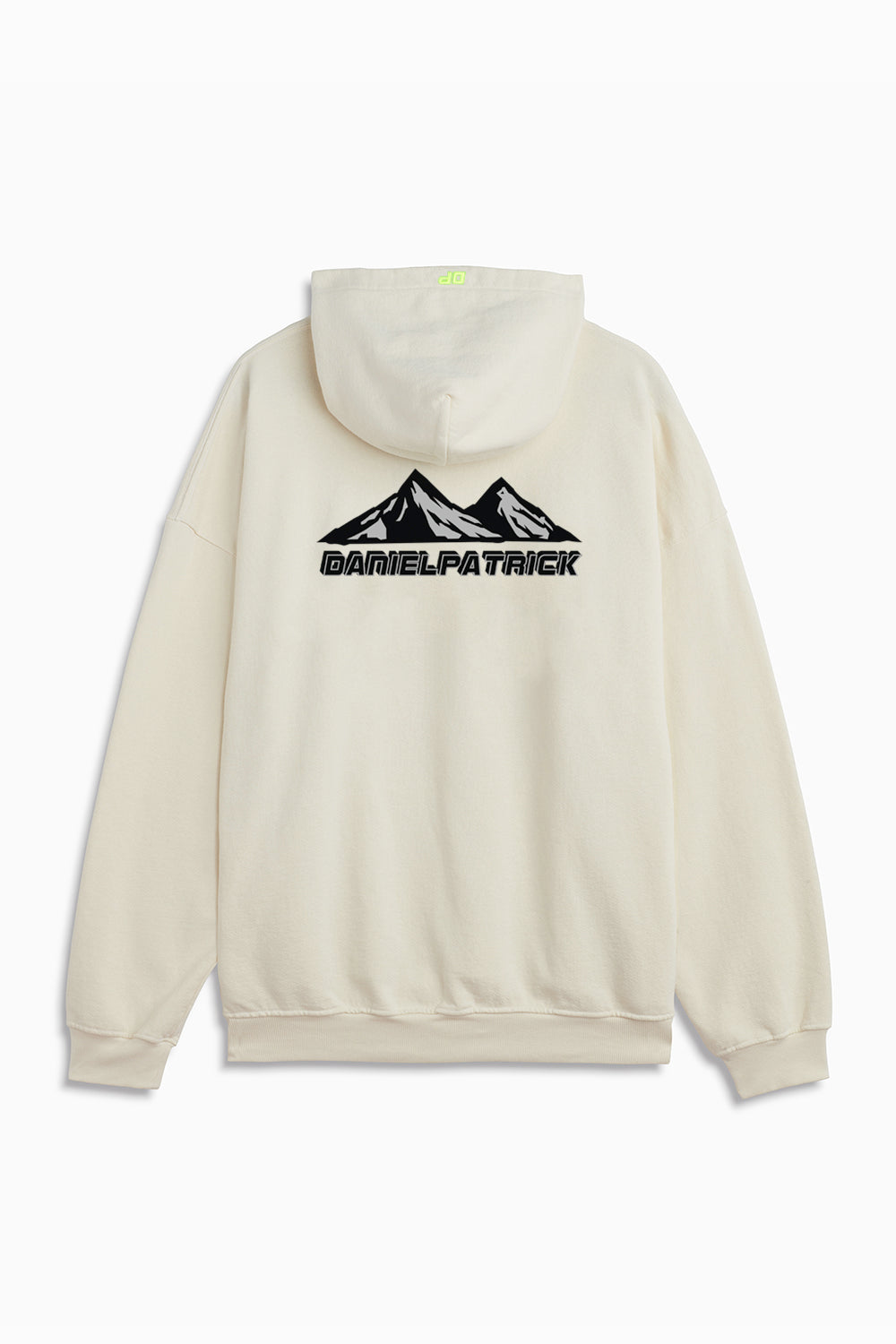 moving mountains hoodie in natural by daniel patrick