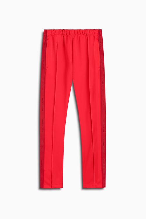heroine track pant in red by daniel patrick