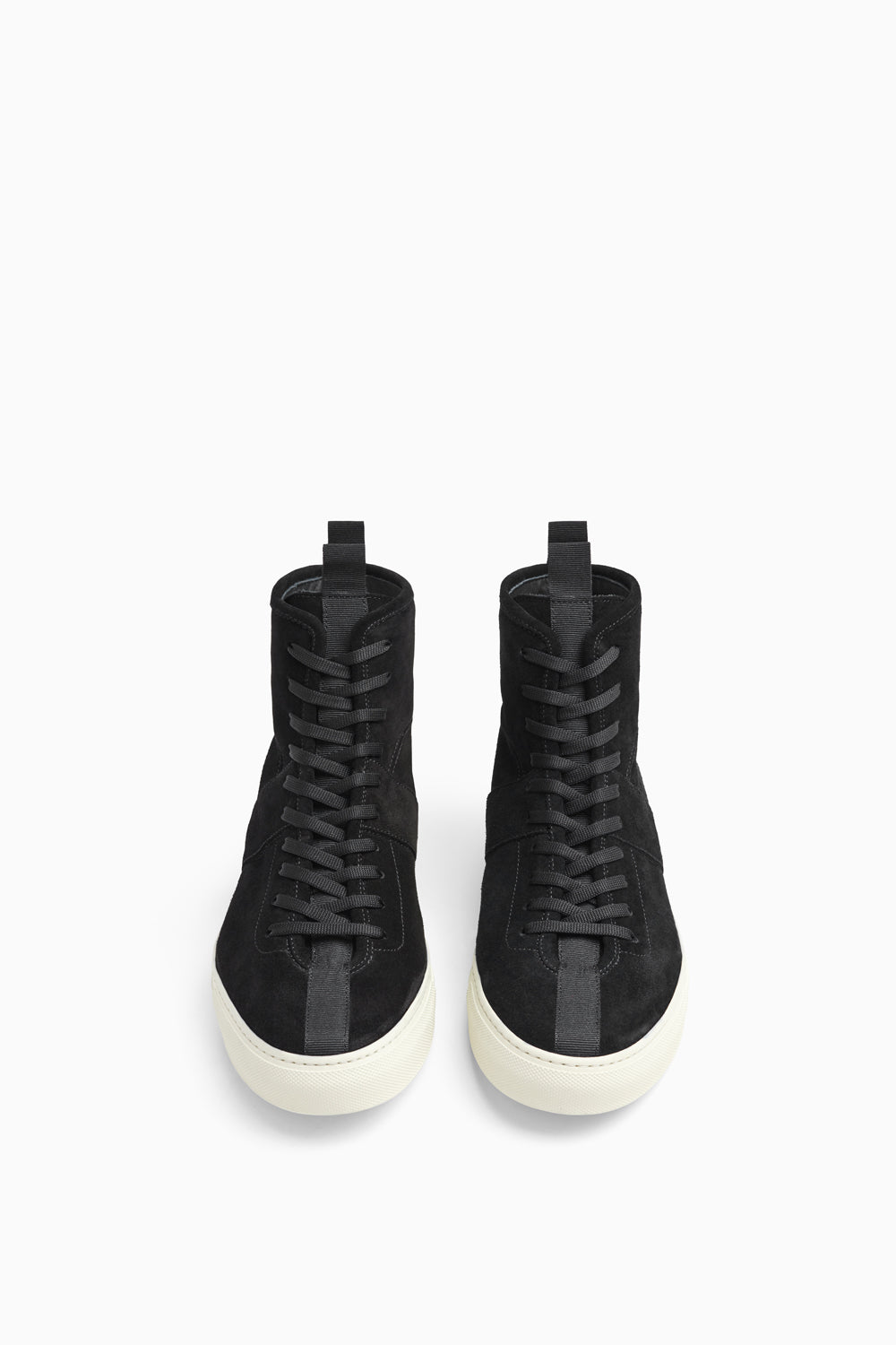 high top roamer in black/ivory by daniel patrick