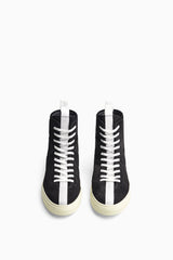 high top roamer in black/white/ivory by daniel patrick