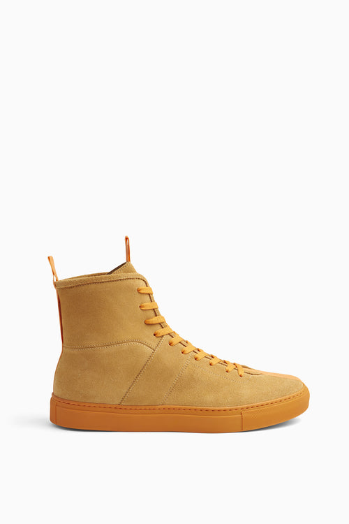 high top roamer in orange by daniel patrick