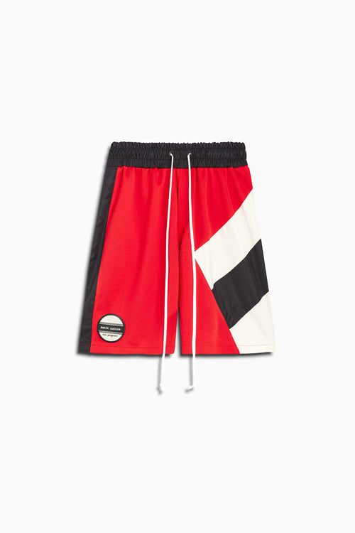 LA shorts in red/black/ivory by daniel patrick