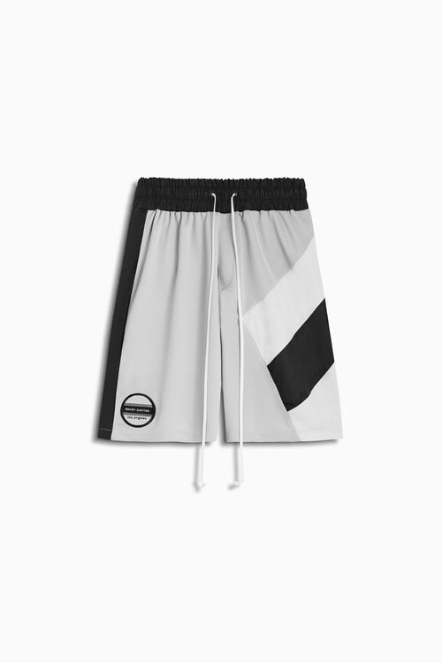 LA shorts in silver grey/black/ivory by daniel patrick
