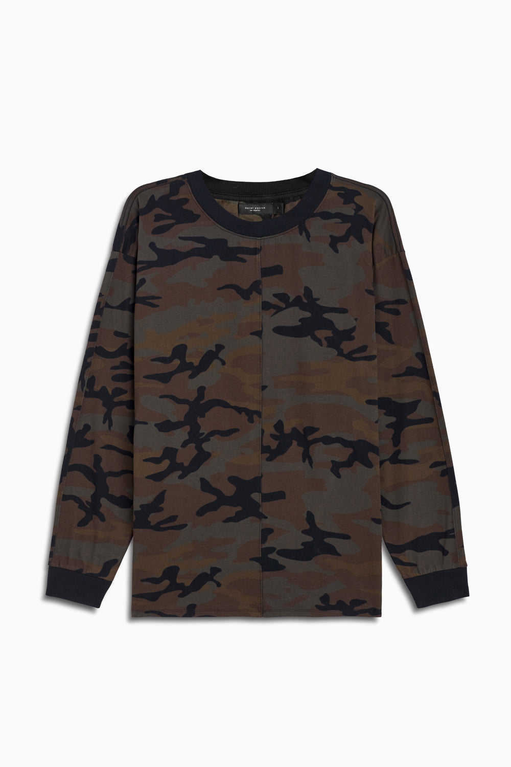 l/s crew iii in dark camo by daniel patrick