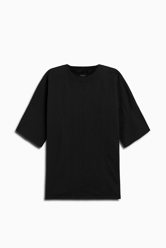 oversized box heavy tee in black by daniel patrick
