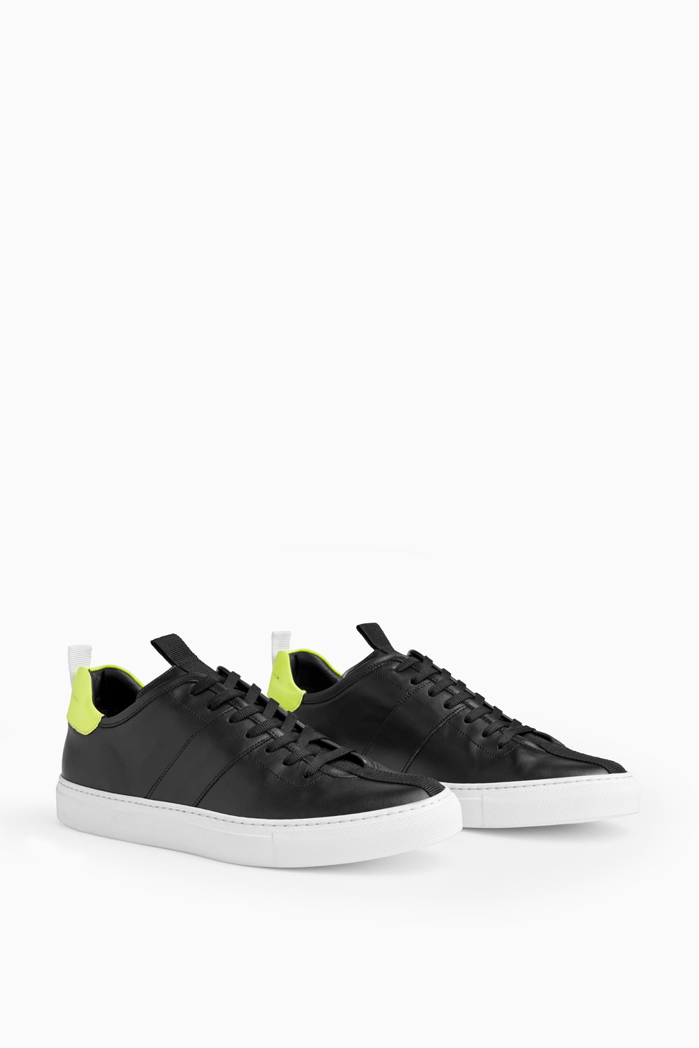 low roamer in black/neon yellow/white by daniel patrick