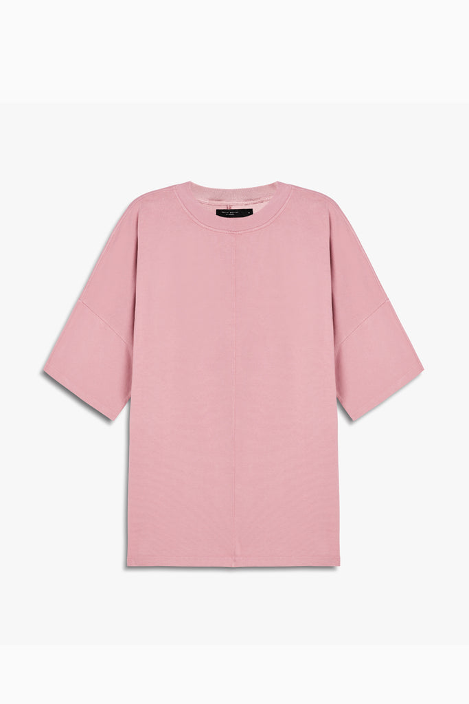 oversized box heavy tee in blush by daniel patrick