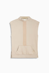 road hood sleeveless in wheat by daniel patrick