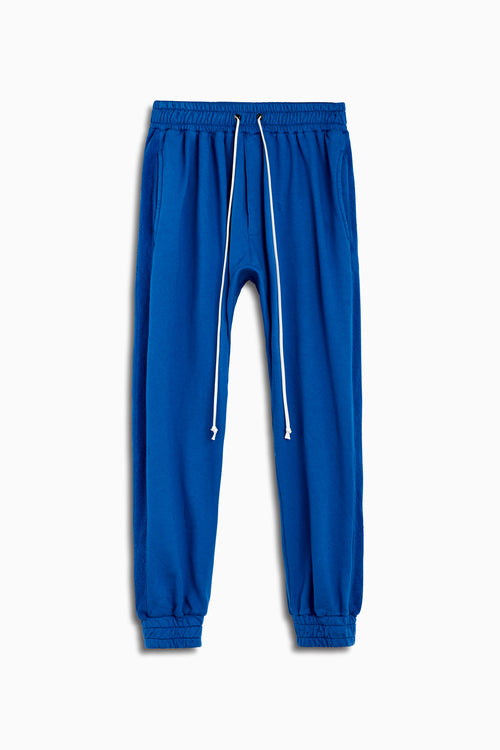 roaming track pants by daniel patrick in cobalt