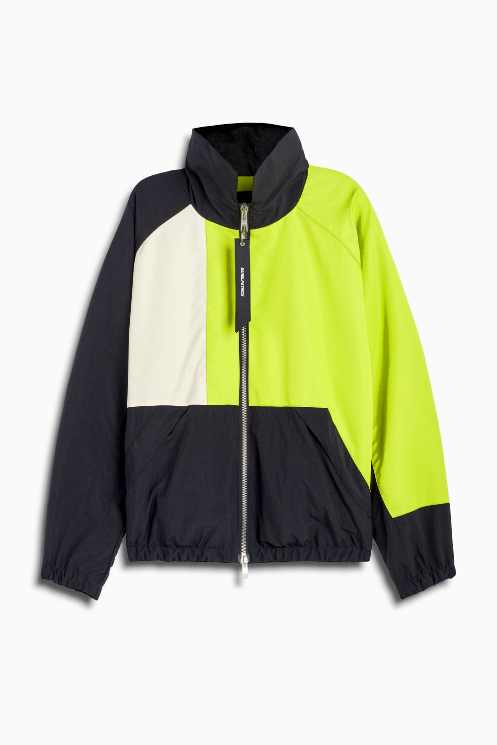 93 jacket in black/lime/ivory by daniel patrick