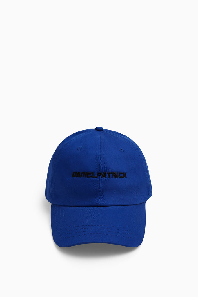 DP sport cap in cobalt/black by daniel patrick
