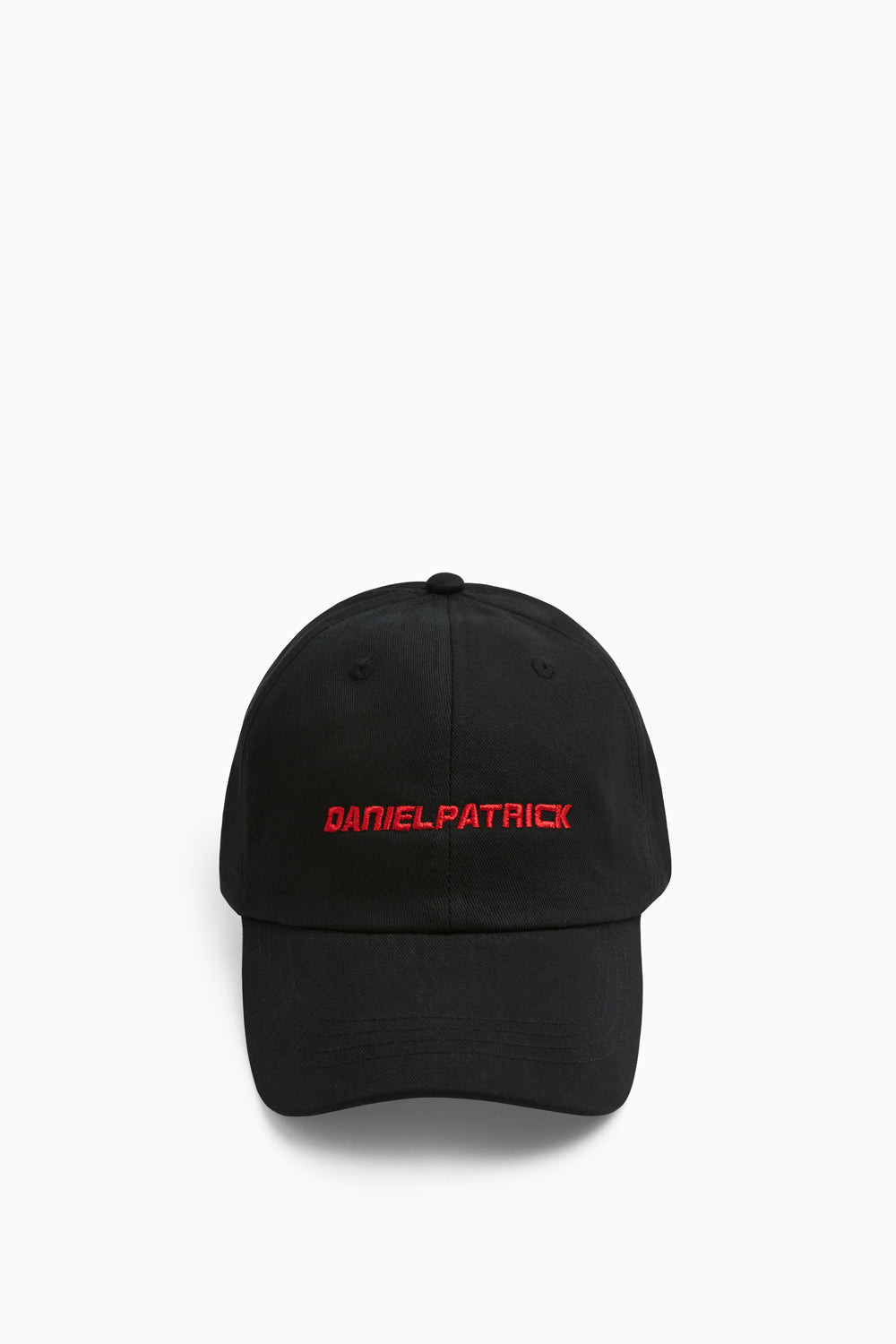 DP sport cap in black/red by daniel patrick