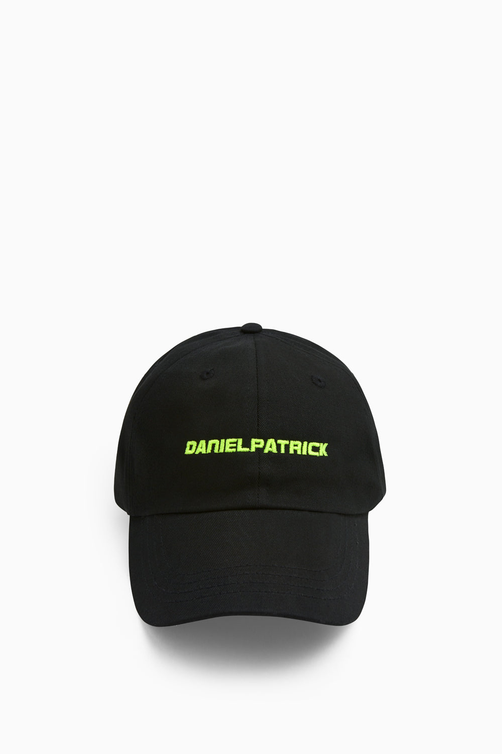 DP sport cap in black/lime by daniel patrick