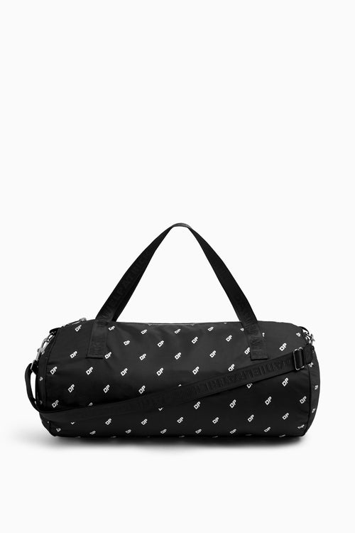 DP gym bag in black/white by daniel patrick