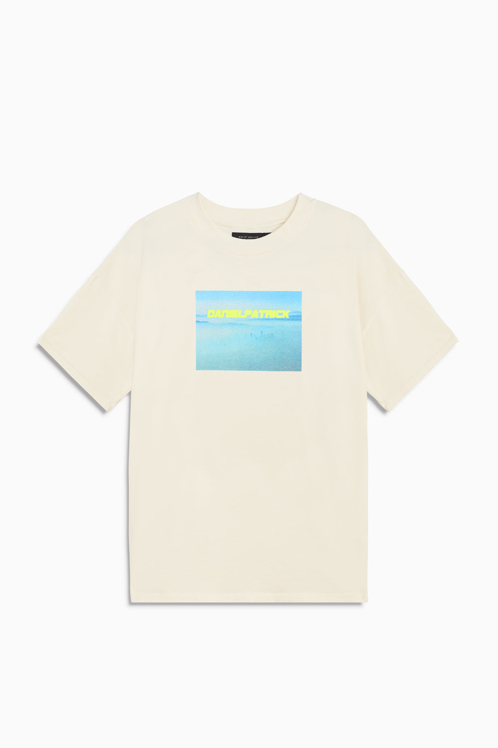 smog angeles tee in natural by daniel patrick