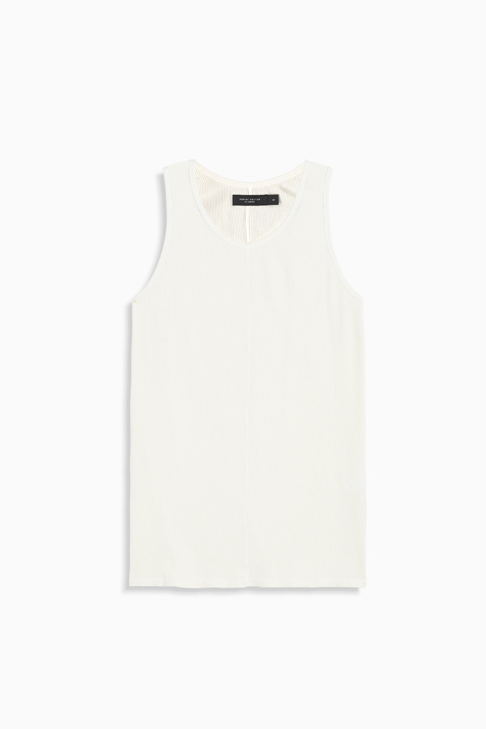 thermal tank top in natural by daniel patrick