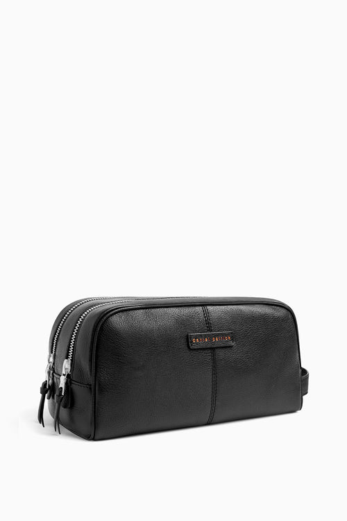 toiletry bag in black by daniel patrick