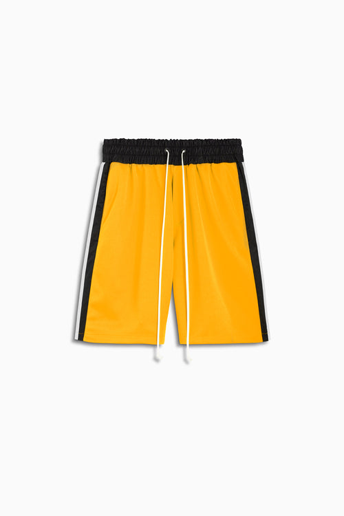 tri shorts in yellow/black/ivory by daniel patrick