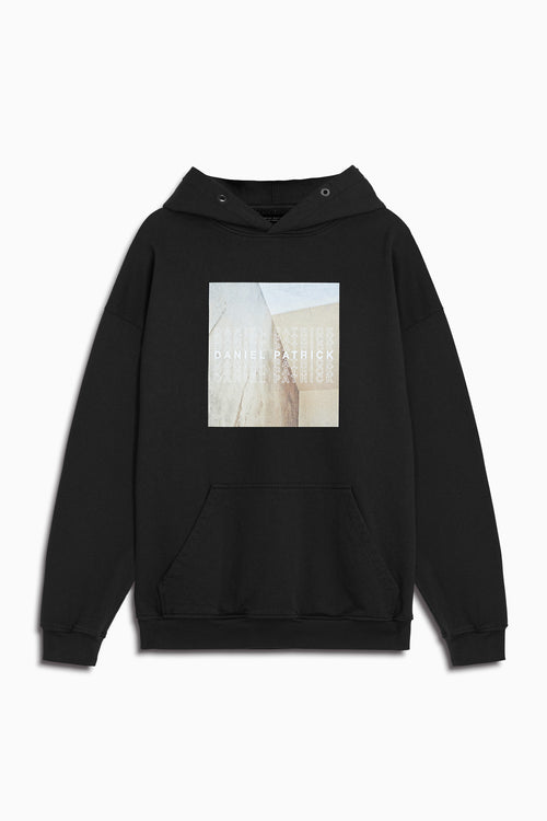 venice hoodie in black by daniel patrick