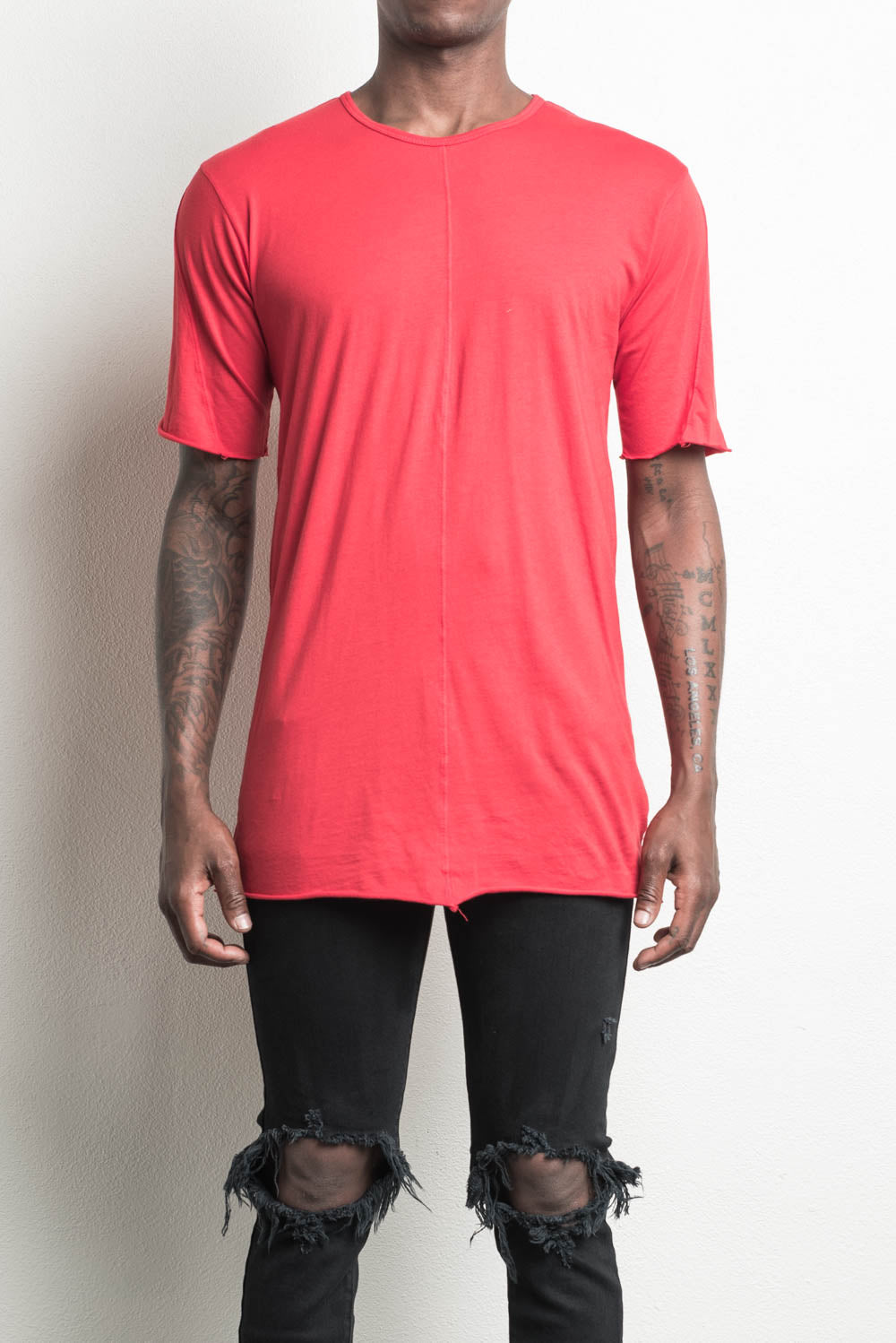 knomad crew / red