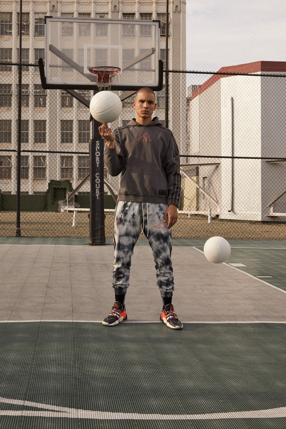 DP adidas Basketball x Harden pants / black
