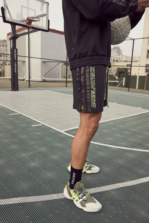 DP adidas Basketball x Harden shorts / black + neon