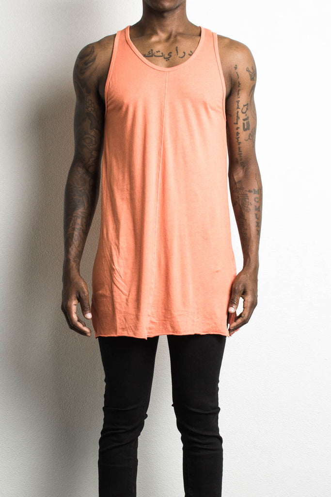 loose tank in orange by daniel patrick