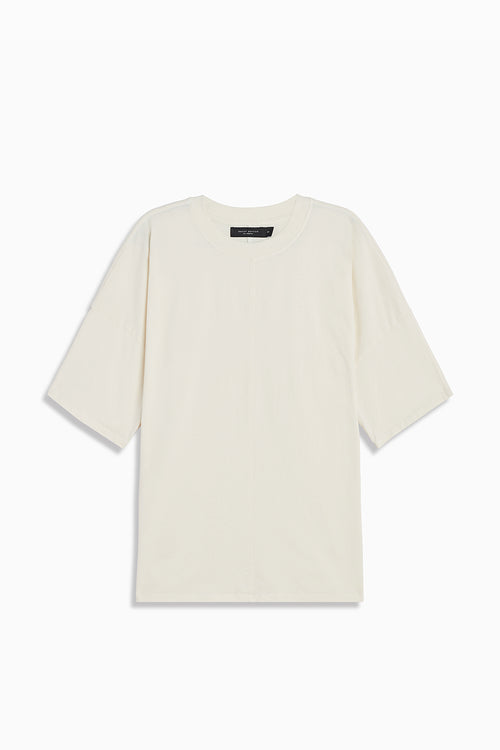 oversized box heavy tee in natural by daniel patrick