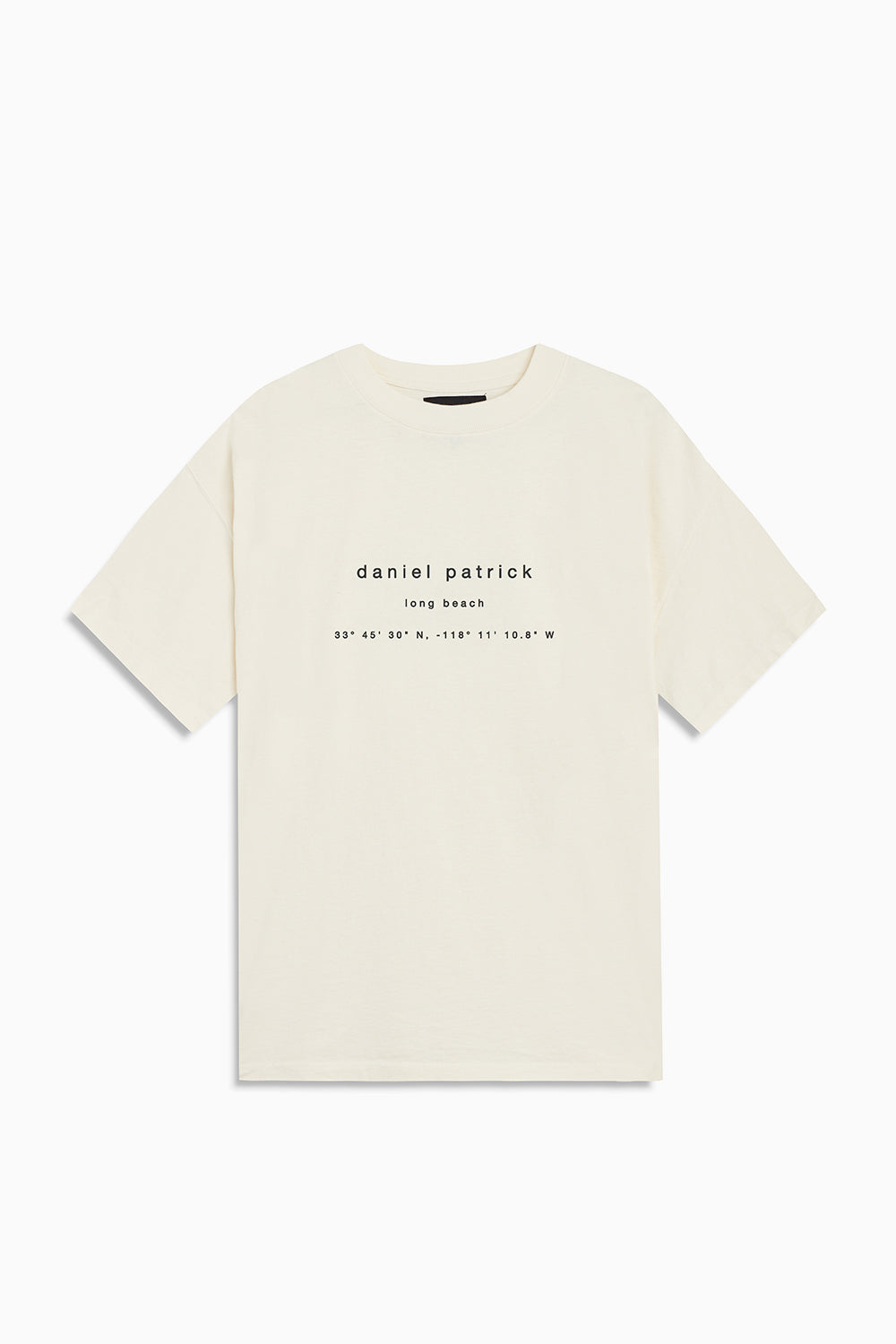 long beach souvenir tee / natural