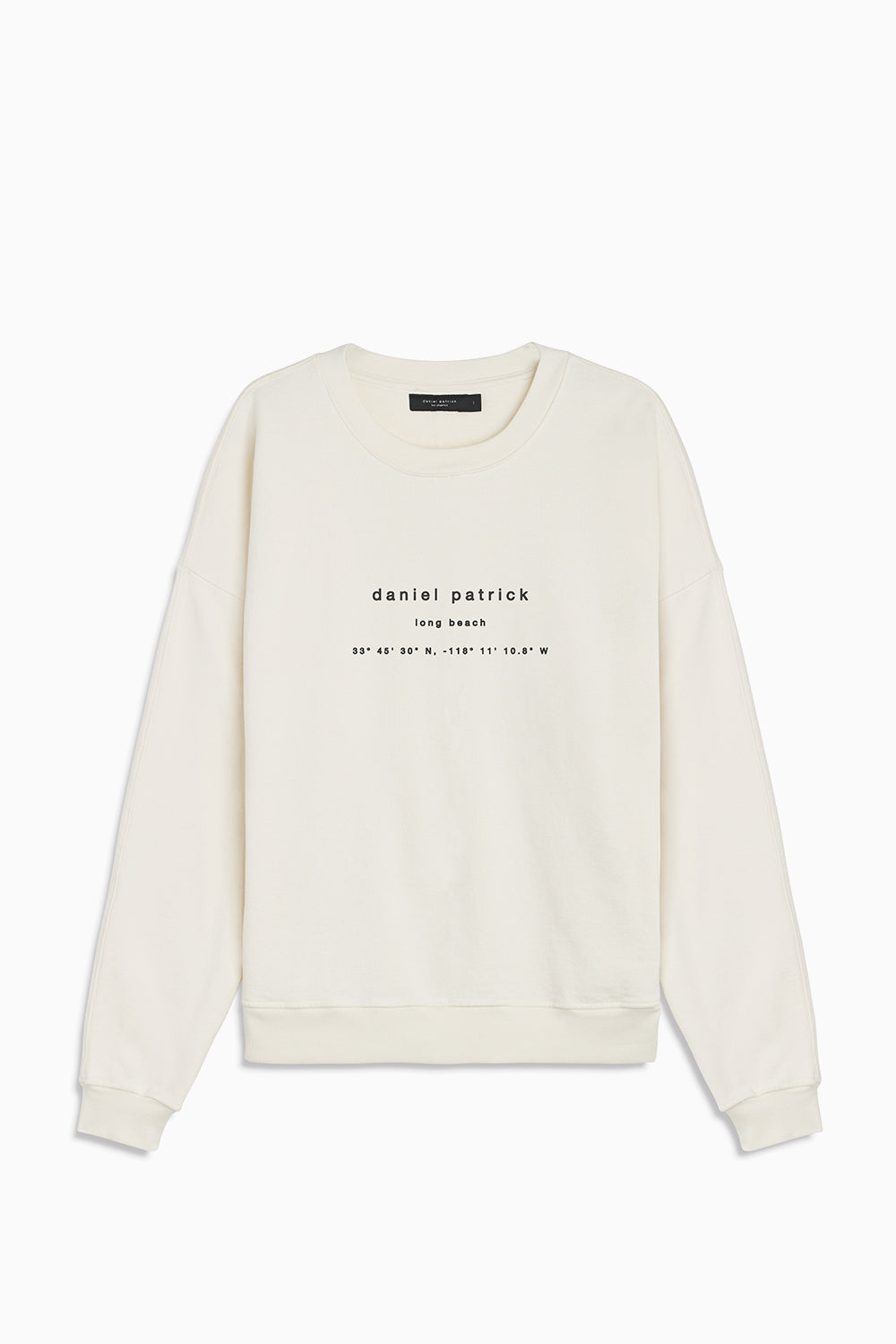 long beach souvenir sweat / natural