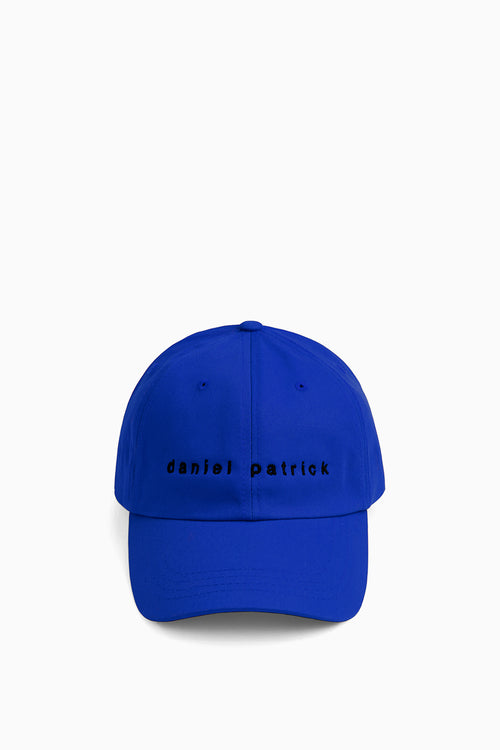 dp dad cap in cobalt/black by daniel patrick