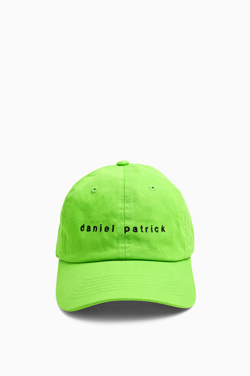 dp dad cap in lime/black by daniel patrick