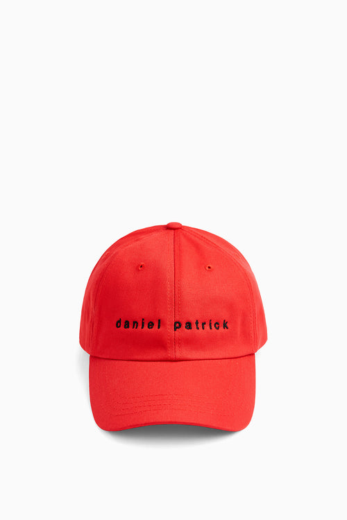 dp dad cap in red/black by daniel patrick