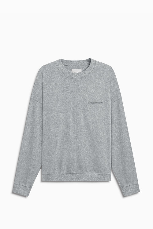 loop terry standard sweatshirt / heather grey
