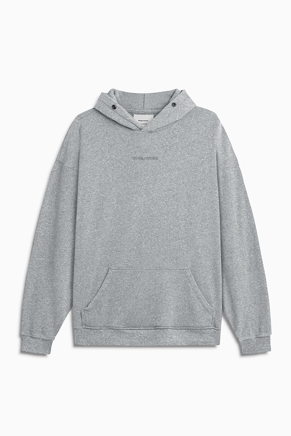 loop terry standard hoodie / heather grey