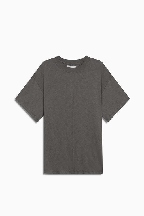 tri-blend standard tee / washed olive heather
