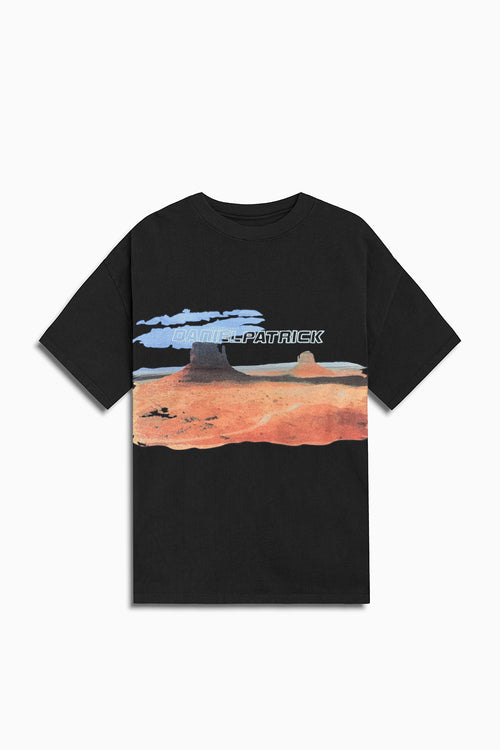utah desert tee / washed black