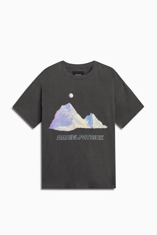desert mountain tee / vintage black