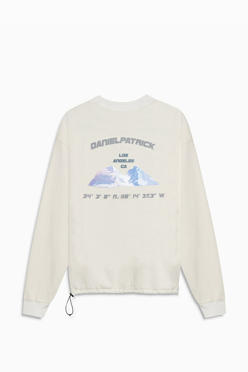 desert mountain bungee sweatshirt / natural